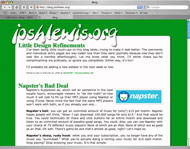 Thumbnail image of the general design of this blog