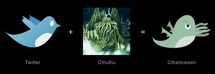 Twitter + Cthulhu = Cthalloween